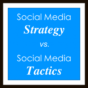 Strategy vs Tactics
